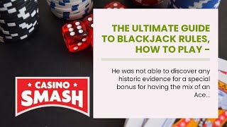 The Ultimate Guide To Blackjack Rules, How To Play – Gambling guide.