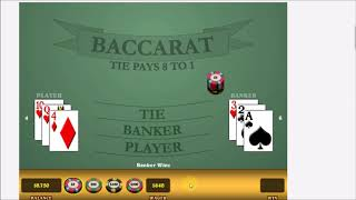 BACCARAT. GOT CRUSHED! BANKROLL WIPED OUT! $2,500 LOSS+ with this strategy. Skip to 6:20 to WATCH.