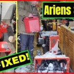 ARIENS ST824  Carburetor or Gas problem?