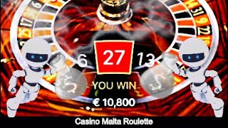 € 400 to € 14,800 – Casino Malta Roulette vs A.I Bot