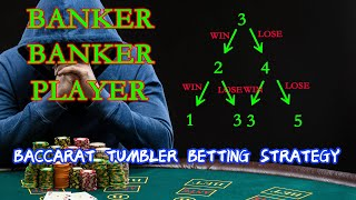 Chinese baccarat tumbler betting strategy, finally tested with python