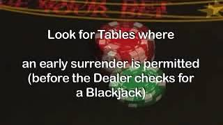 Choosing the Right Blackjack Table