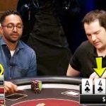 Billionaire FLOPS QUADS On TV Poker Game