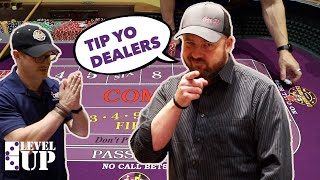 How to Tip your Craps Dealer | Level Up at Dice 11
