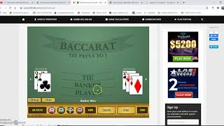 ***ATTN: Winning Baccarat Strategy, Banker Banker Player with Martingale for Consistent Wins***