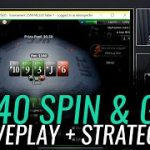SPIN & GO STRATEGY AND LIVE PLAY at $40 stakes! Spin & Go Strategy Series