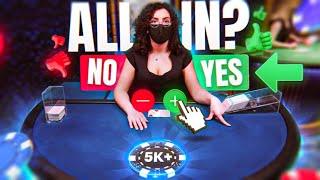 ALL IN UNTIL I WIN… (best blackjack strategy)