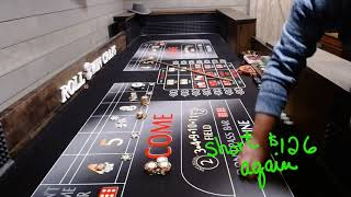$640 Across Power Play Craps Strategy