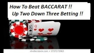 "How to beat BACCARAT !! Live Play "" By Gambling Chi 1/5/20"