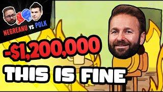 NEGREANU vs POLK | Negreanu LOST $1,200,000!!!