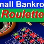 Roulette Small Bankroll Winning Strategy
