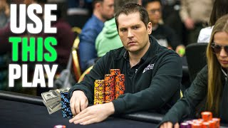 Win More Money At The Low Stakes With This Play