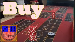 Best CRAPS strategy | Buy the 4 and 10