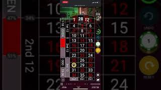 Winning Roulette strategy – live session – DOUBLE DOWN BOOM – £180