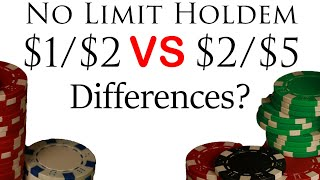 Live $1/$2 & $2/$5 no limit holdem – What's the difference? Detroit Poker Vlog #54