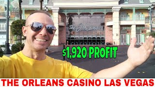 The Orleans Las Vegas Baccarat Winning Strategy Makes $1,920 For Professional Gambler.💰💵💰💵