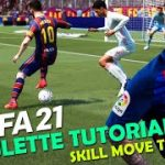 FIFA 21 Roulette Tutorial   How to Perform the Roulette in FIFA 21   FIFA 21 Skill Move Tutorial