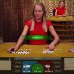 BIG WIN at LIVE DEALER BACCARAT – Evolution Gaming SPEED BACCARAT
