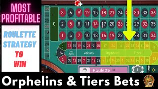 Orphelins and Tiers Bets of French Roulette || Split Bets Tricks || Roulette Strategy To Win 2020
