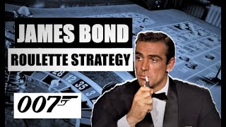 JAMES BOND Roulette Strategy   ROULETTE STRATEGY to WIN   Sean Connery the Roulette Player