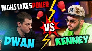 HIGH STAKES POKER | DWAN clashes with KENNEY