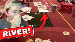 BRUTAL End to $800 Poker Tournament ($130,000 for 1st!)