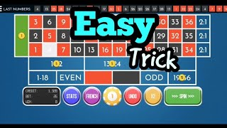 Easy Trick Help to Win Roulette – Roulette Win Formula – roulette strategy to win