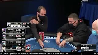 Another CRAZY Flop from a Real No Limit Hold'em Cash Game