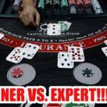 BLACKJACK BATTLE – Expert vs. Beginner