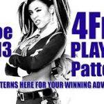 Baccarat winning pattern – 4Fr1 Player Stats update!