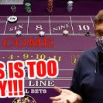 🔥 HOW TO WIN 🔥 30 Roll Craps Challenge – WIN BIG or BUST #42