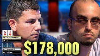 FLUSH vs FLUSH On High Stakes Poker!