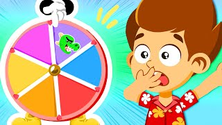 ❤💙Learn the colors with Superzoo Roulette! | Cartoons for kids