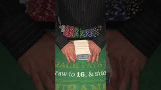 Spanish Blackjack and Classic Blackjack with riffling techniques and betting strategy