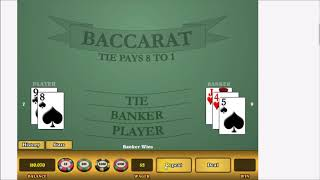 """BACCARAT WINS. MY NEW STRATEGY RELEASE. """"THE COYOTE."""" SOLID WINNING SESSION."""