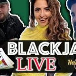 EPIC LIVE BLACKJACK at Hard Rock! W/ Dr. Joseph Cipriano & Loot Box TV