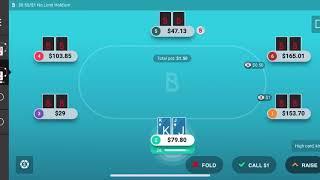Online Poker Strategy 2021 – Cash Games $188 Win ♠