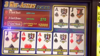 Pt. 15 3 way action poker: Gold Coast casino