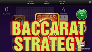 #1XBET #BACCARAT Baccarat Strategy-2021   95% winning Strategy