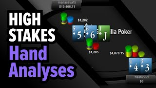February High Stakes Online Poker Strategy – 6-max $5k NL
