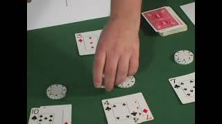 Hard Double Down Strategies for Blackjack