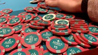 ALL LUCK, NO SKILL // Texas Holdem Poker Vlog 21