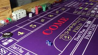 Craps – 6&8 Stretch Strategy on a $15 Minimum Table