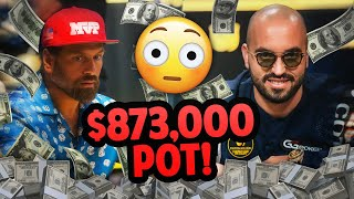 A HUGE $873,000 pot on HIGH STAKES POKER