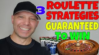 Roulette Strategies To Win- Professional Gambler Christopher Mitchell Explains Step By Step.