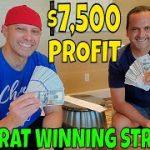 Christopher Mitchell Baccarat Winning Strategy $7,500 Profit At Wynn & Palazzo Casino Las Vegas.