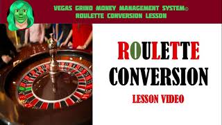 How To Convert A Baccarat System To Roulette Overview