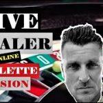 ONLINE ROULETTE LIVE DEALER SESSION   Online Roulette Strategy to win   Online Roulette win