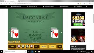 Baccarat Player Strategy : ) Goes on !! Merry Christmas !!