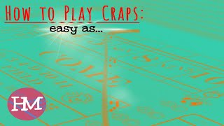 How 2 Play Craps: EASY Beginner System | FUN Regression Strategy